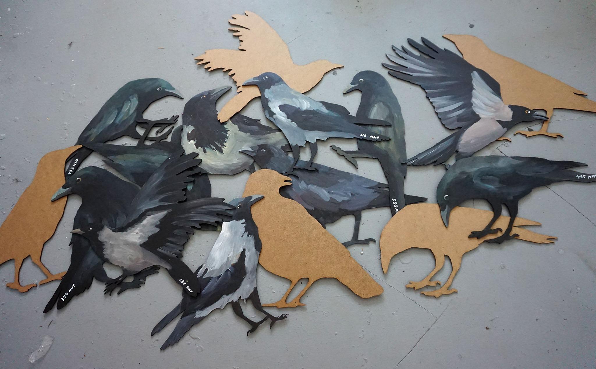 white crow // Maria & Natalia Petschatnikov