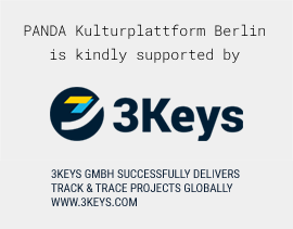 PANDA Kulturplattform Berlin is kindly supported by 3Keys