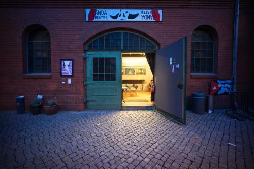 PANDA (im kleinen Hof der Kulturbrauerei) -  Berlin-Prenzlauer Berg. Photo - Roman Ekimov